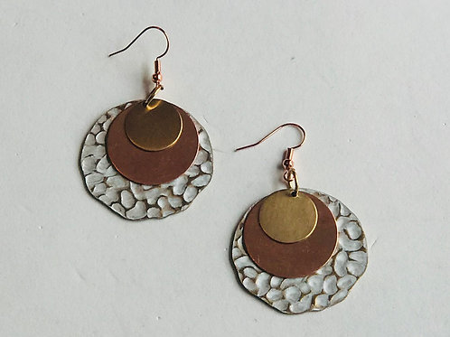 Stacked Circles Earrings