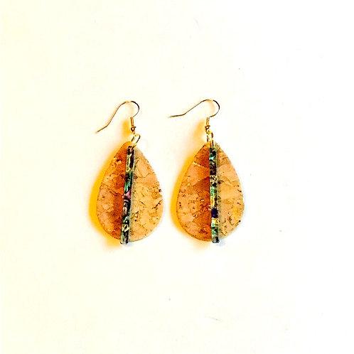 Cork & Acetate Earrings