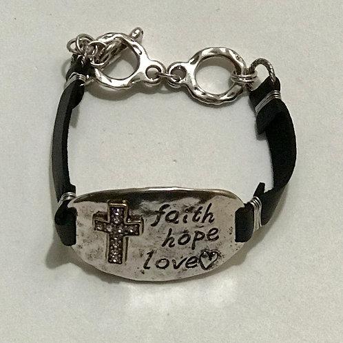 """""""Faith"""" Bracelet"""