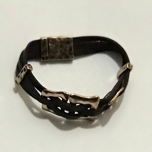 "Brown ""Square"" Bracelet"