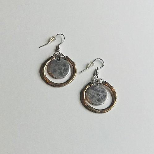 Two-Toned Earrings