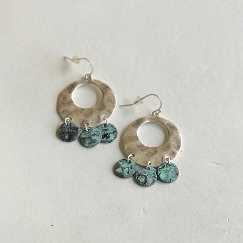 Circle Chandelier Earrings