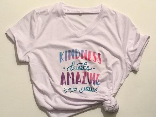 Kindness Looks Amazing T
