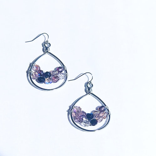 Czech Glass Teardrops