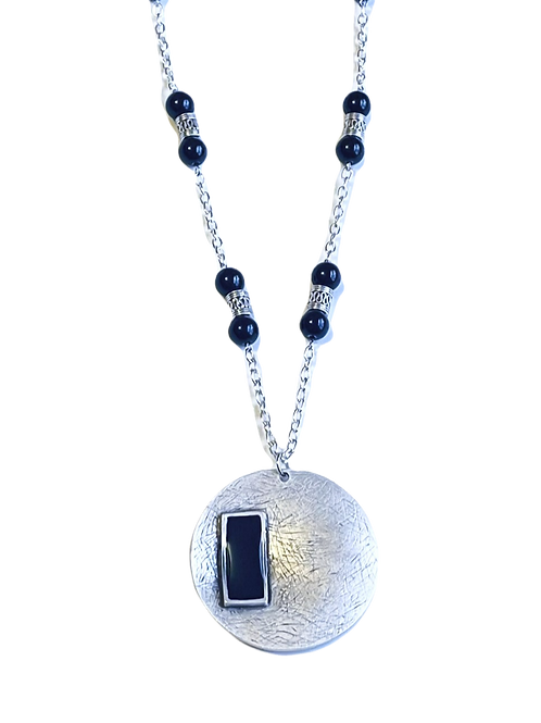 Circle Resin Necklace