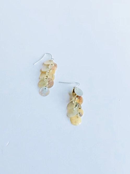 Mussel Shell Dangle Earrings