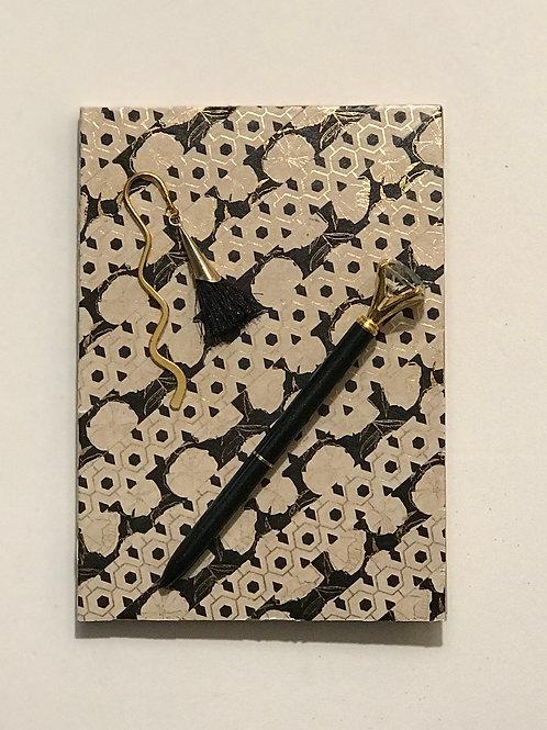 Black & Gold Journal Set