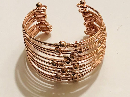 Copper Toned Bangle Cuff