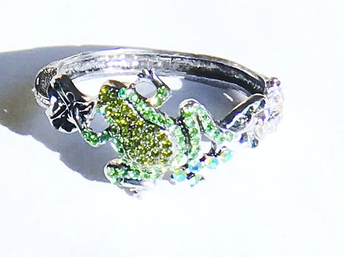 Frog Rhinestone Bracelet