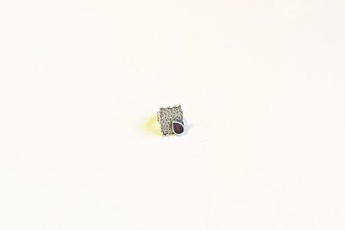 Square Resin Ring
