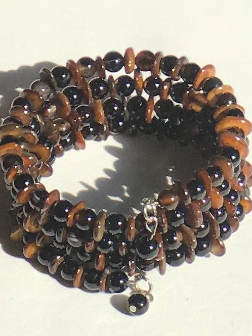 Shell & Agate Bracelet
