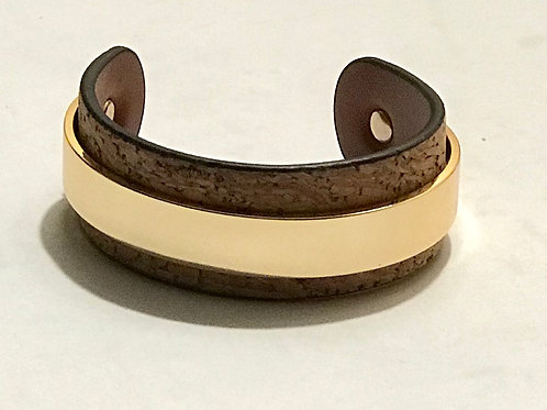 Cork Cuff Bracelet