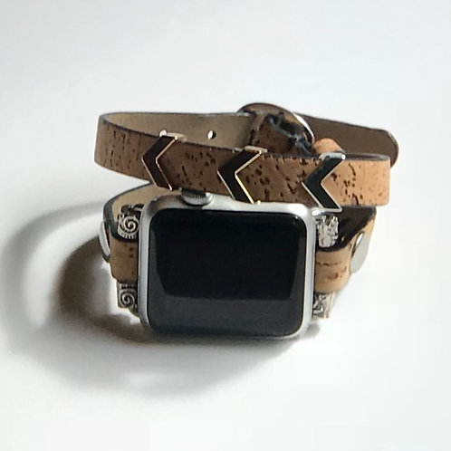 Cork Arrow Double Wrap Band