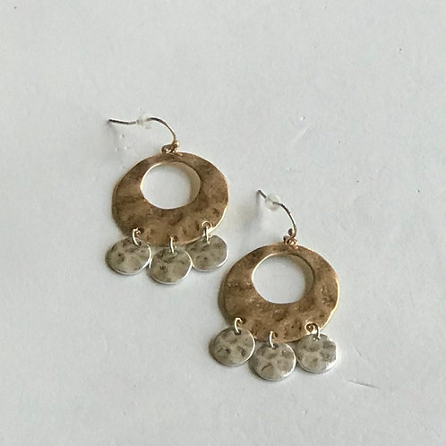 Circle Chandelier Earrings