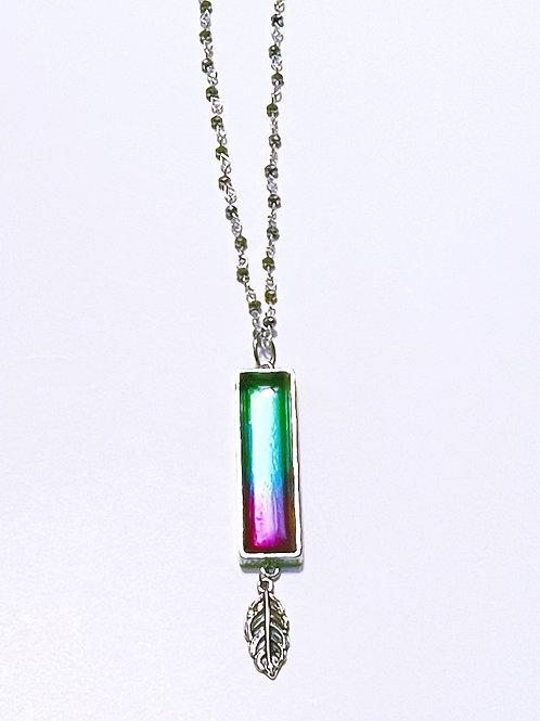 Multicolor Resin Necklace