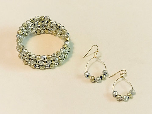 Gold & Silver Bead Set