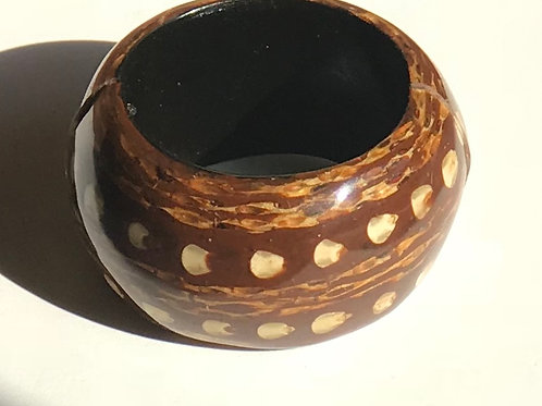 Chunky Wood Bangle