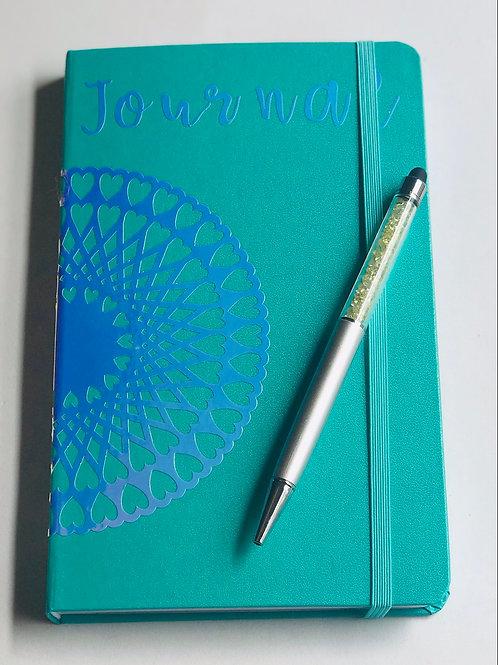 Green Heart Journal Set