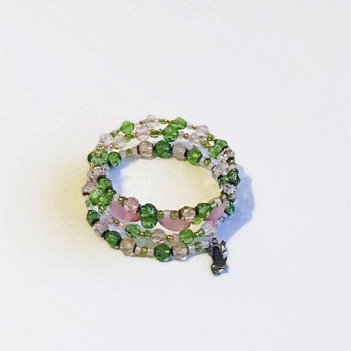 Pink & Green Bracelet