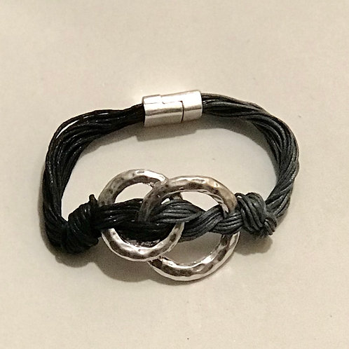 Two-Toned Cord Bracelet