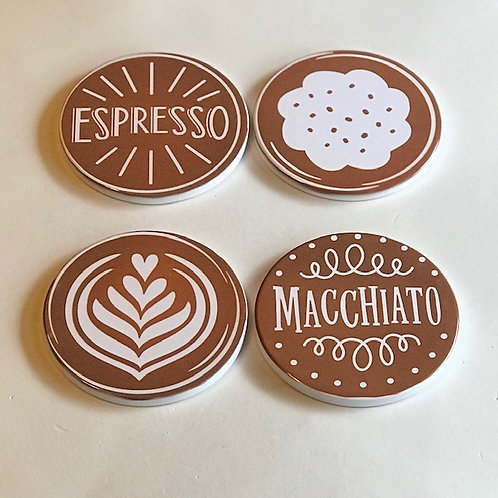 """Coffee"" Coaster Set"