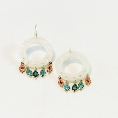 """Moroccan"" Chandelier Earrings"