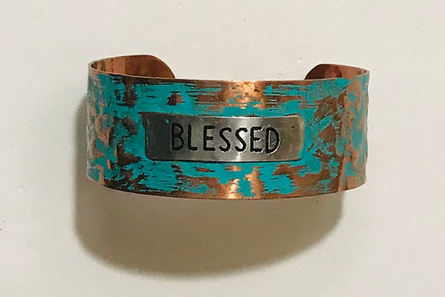 """Blessed"" Cuff"