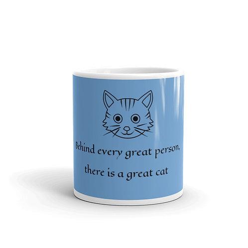 Behind Every Great Person Mug