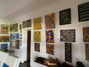 Our art gallery