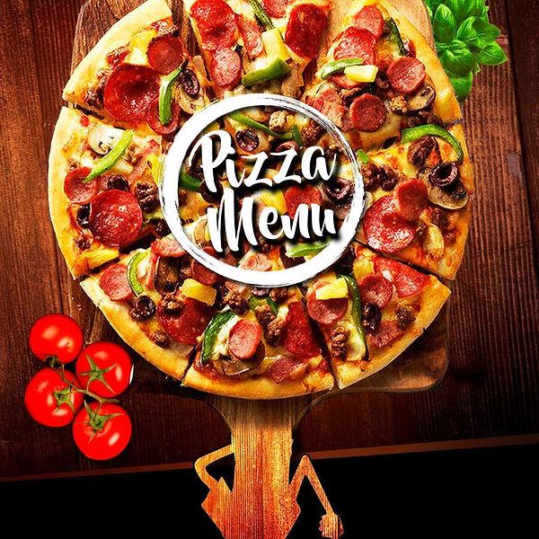 Lashings pizza