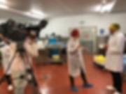 ITV film crew