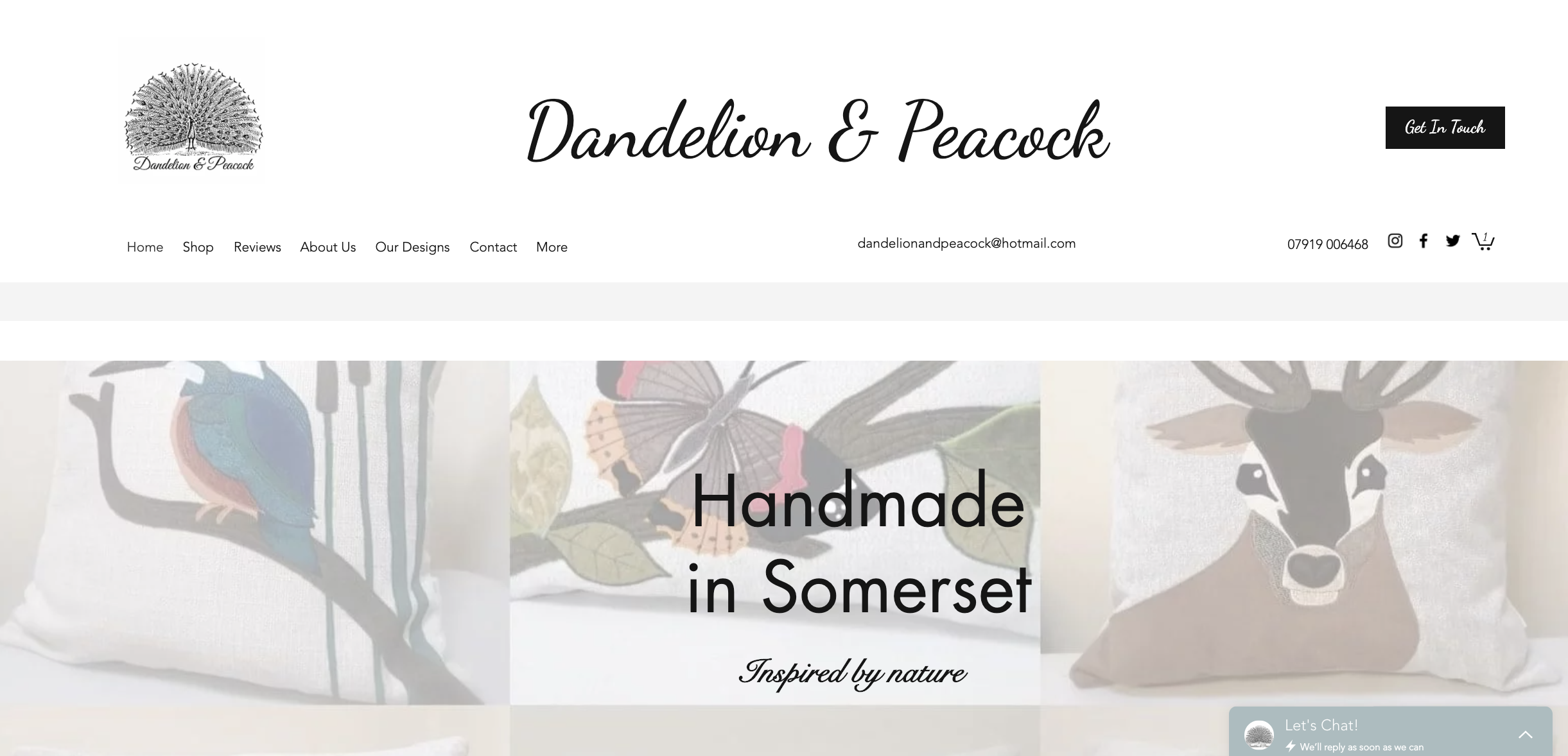 Dandelion & Peacock