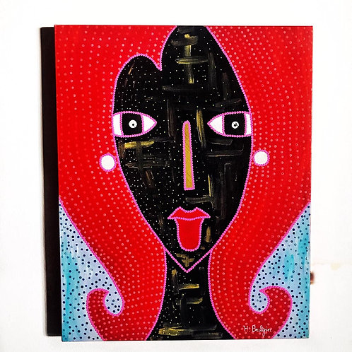 Red Hair Woman | Hilroy Buglin