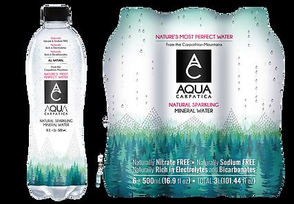 Aqua Carpatia Natural Sparkling Water