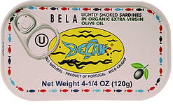 Bela Sardines Organic Extra Virgin Olive