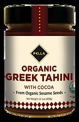 PELLA Organic Greek Tahini with Cocoa