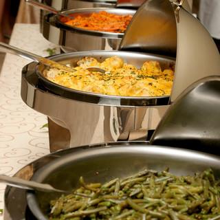 Southern food set up buffet style