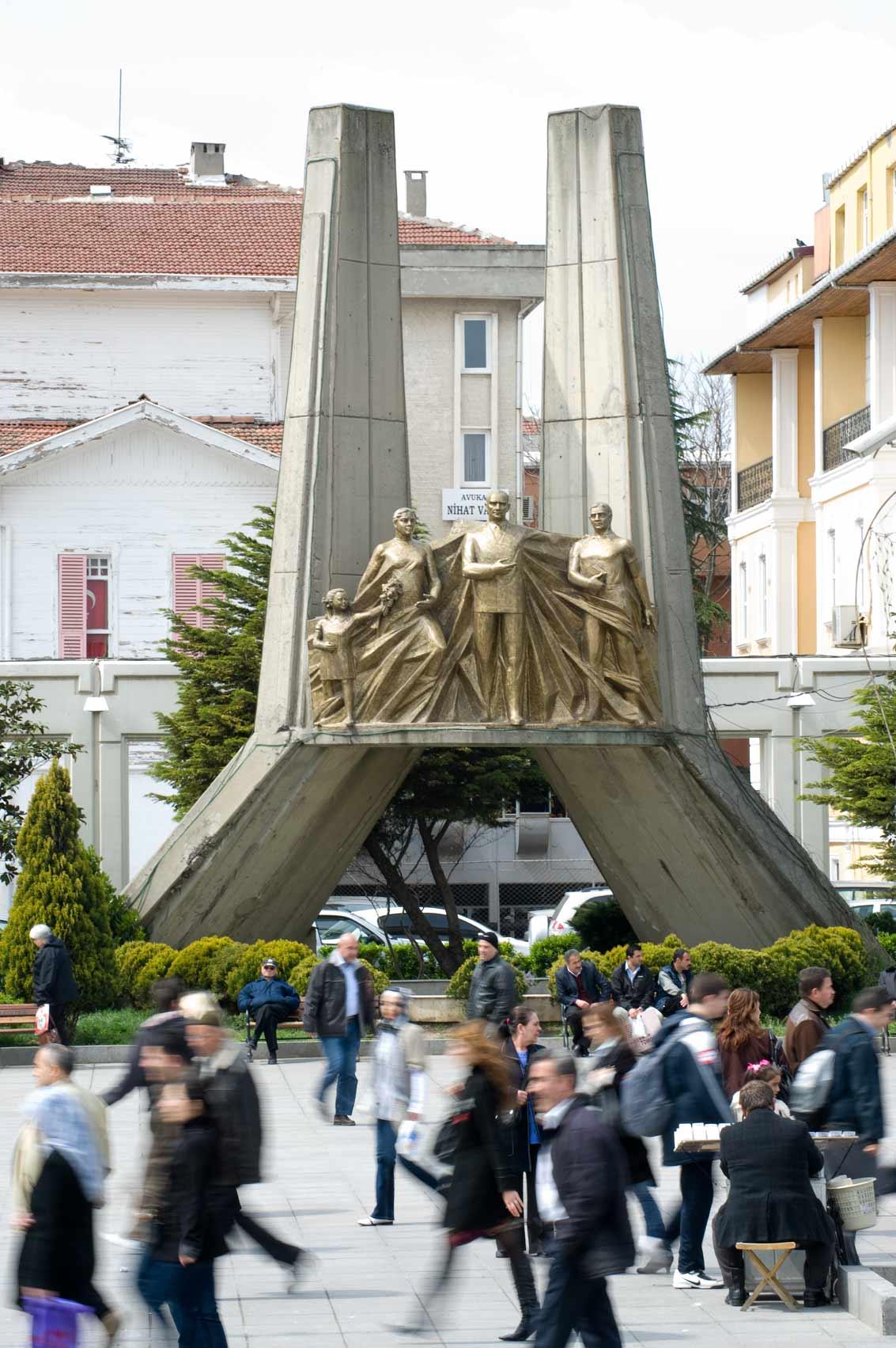 1988-Bakırköy-Atatürk-Anıtı