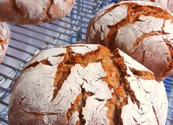 Pão russo de centeio (Quarta-feira)
