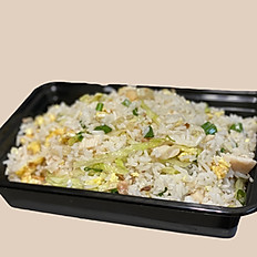 Salted Fish & Chicken Fried Rice