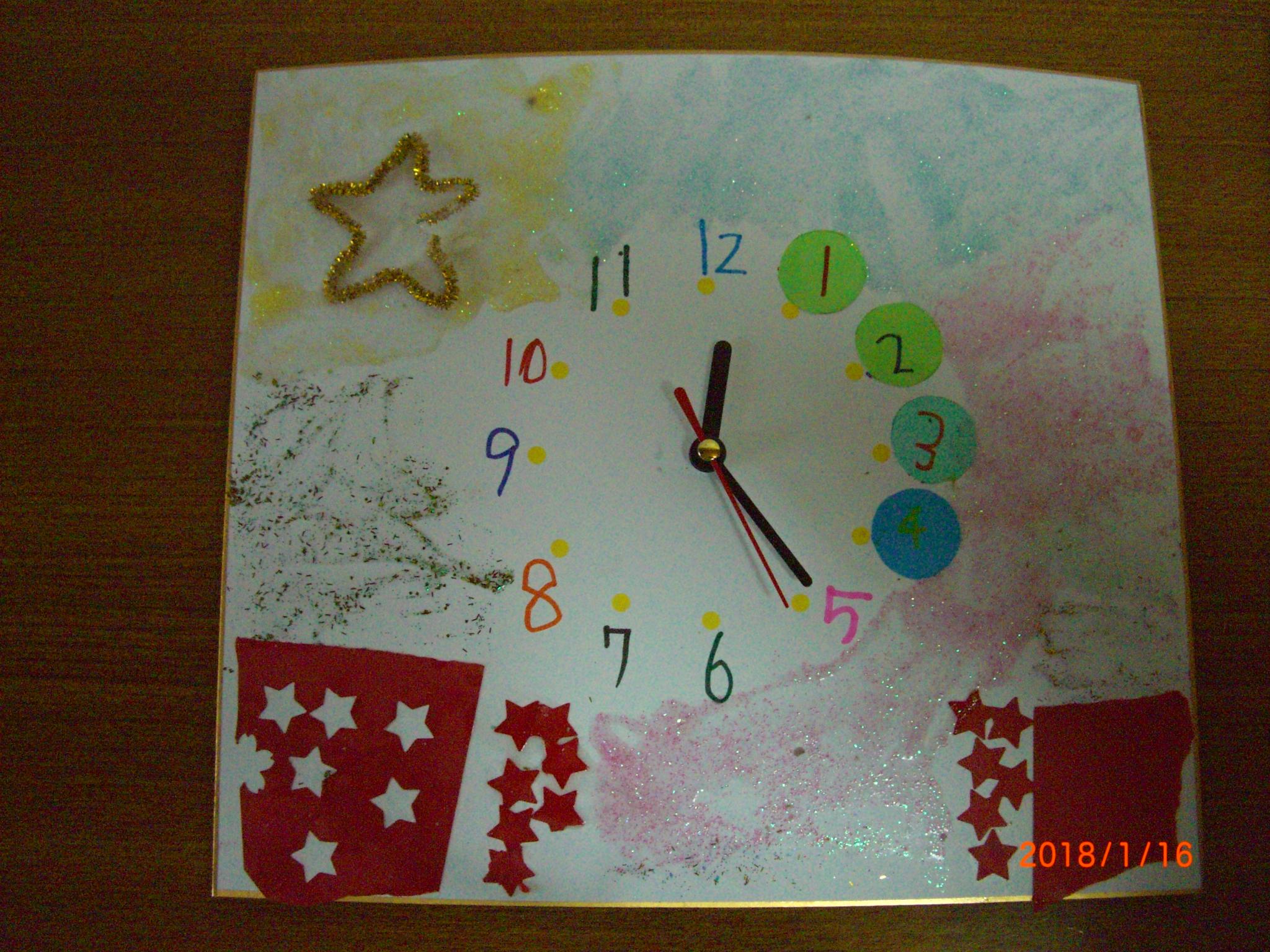 工作 オリジナル時計