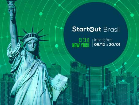 Somos uma das 15 startups selecionadas para o Ciclo New York do StartOut Brasil.