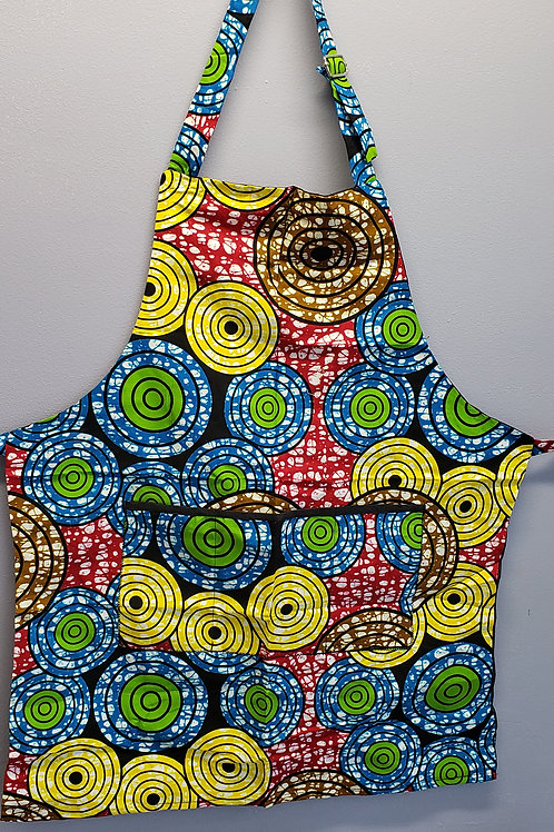 Colourful African inspired Aprons