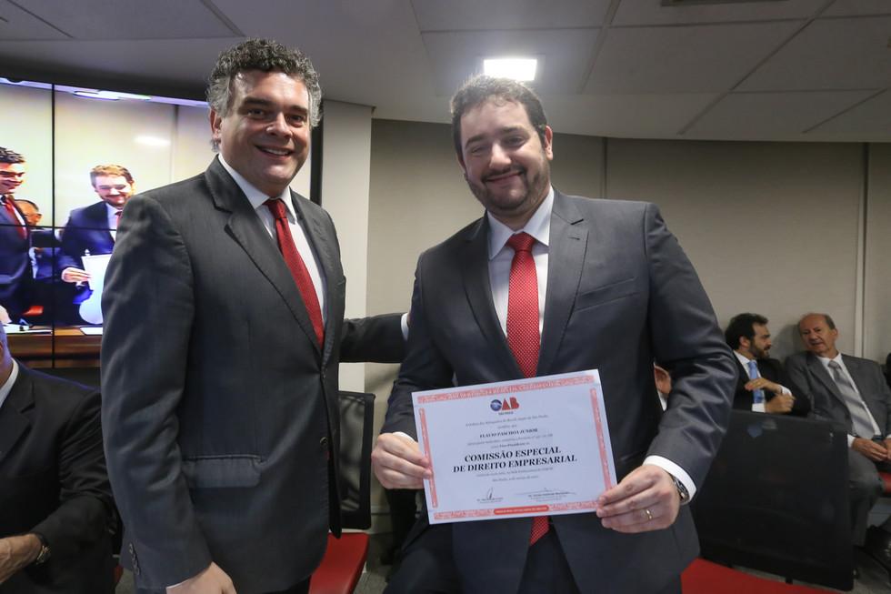 Dr. Fabio Canton e Dr. Flavio Paschoa