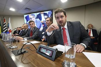 Posse Dr. Flavio Paschoa - Vice Presidente Comissão de Direito Empresarial OAB/SP
