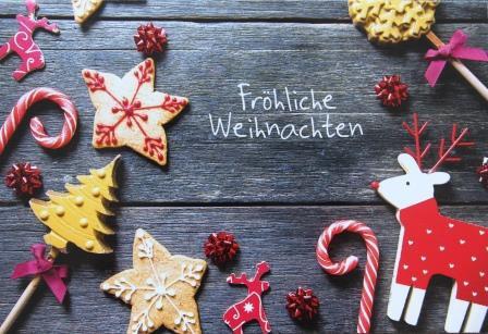 **Fröhliche Weihnachten**
