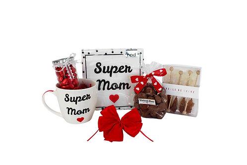 Geschenkkorb **Delicious Super Mom**