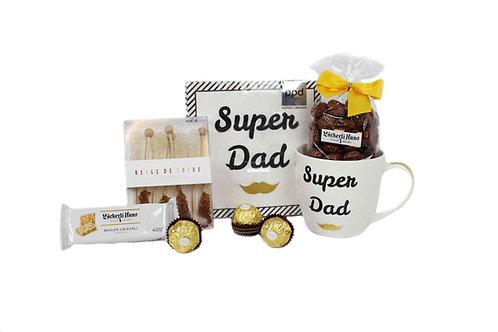 Geschenkkorb **Super Dad Forever**