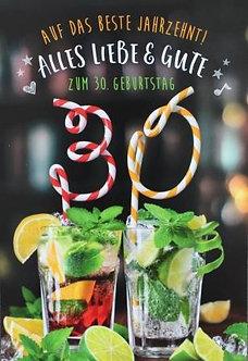**Zum 30. Geburtstag**