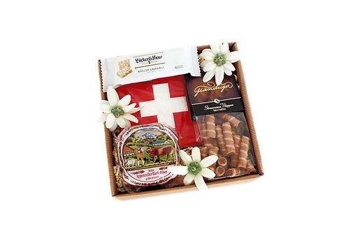 Geschenkbox **Schweizer Mitbringsel**